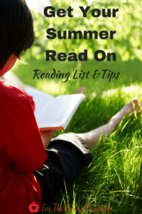 summer reading list and tips