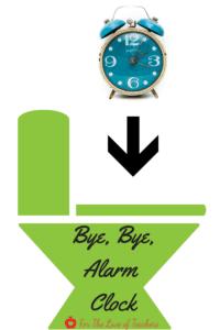 bye bye alarm clock