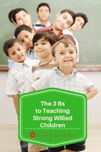 teaching strong willed children