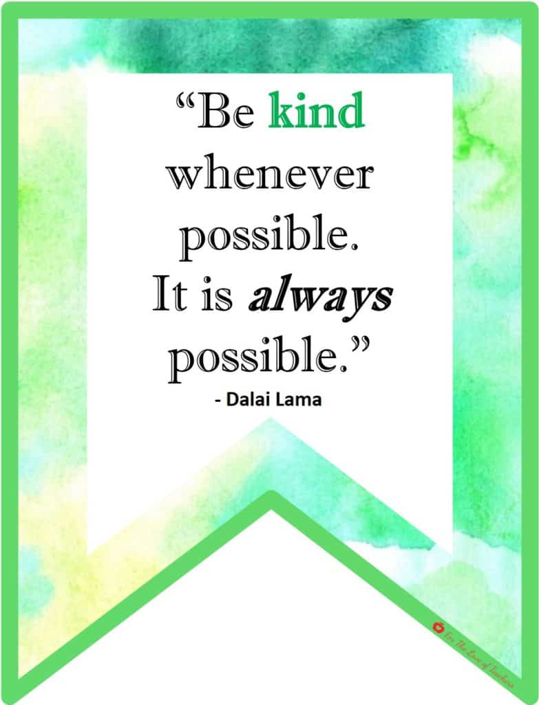Bringing Kindness Respect Back To The Classroom For The Love Of