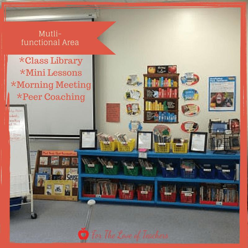 multifunctional area of classroom