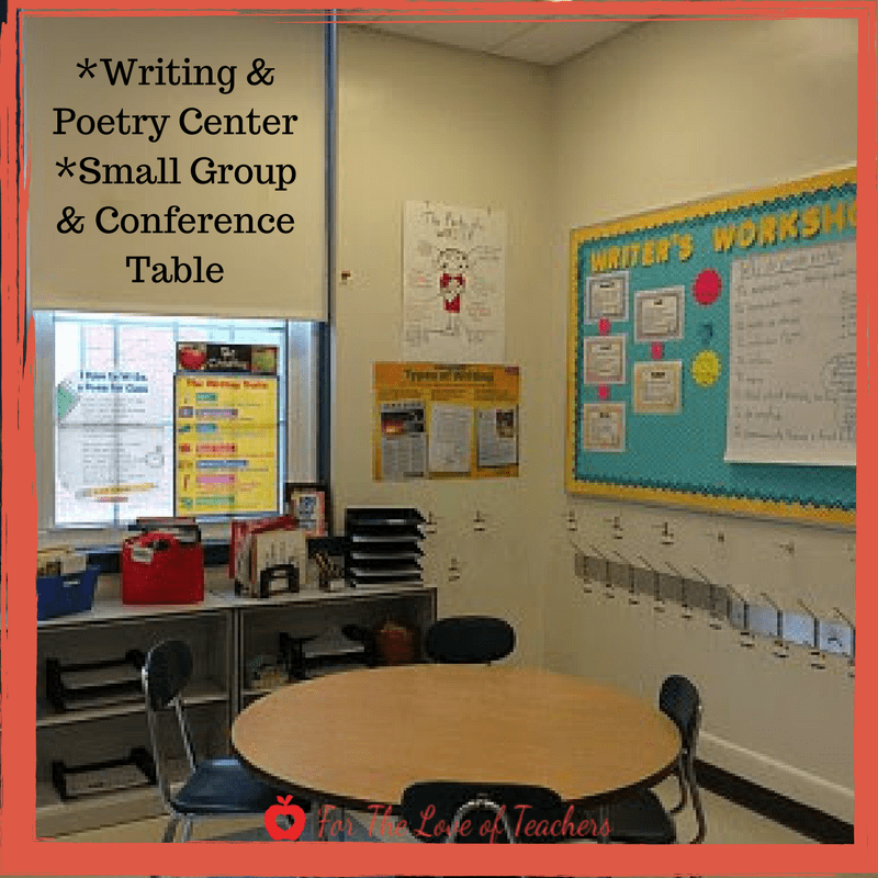 writing center and conference table
