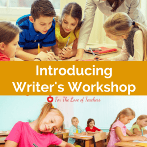 Introducing Writer's Workshop