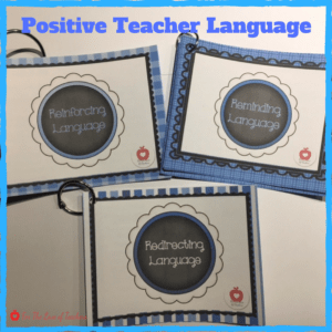 Positive Teacher Langauge